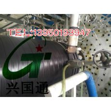漳州HDPE双平壁钢塑复合管,福建HDPE双平壁缠绕结构塑钢复合管价格行情