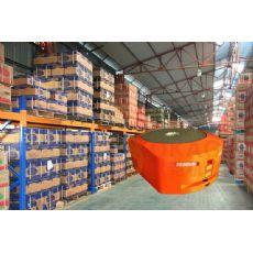 AGV仓储管理机器人无人搬运车无轨迹导航机器人