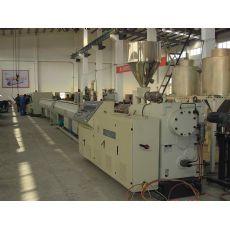 预应力管材生产线:预应力竹节塑料波纹管生产线