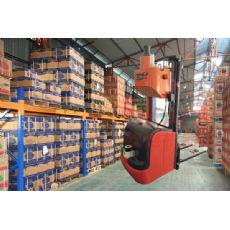 工业物料搬运激光叉车激光导航叉车自动输送搬运机器人