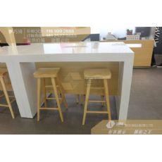 华为3.0体验店休息区洽谈桌批发,华为3.0体验台生产厂家