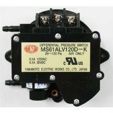 山本电机MANOSTAR微差压表MS61ALV1.2E
