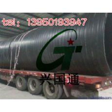 福建HDPE双平壁缠绕结构塑钢复合管价格行情——闽南HDPE双平壁钢塑复合管