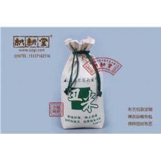 郑州织耕堂定制束口拉绳大米袋  定做棉布杂粮袋
