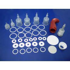 专业生产PE低发泡垫片 白色PE垫片