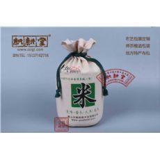 郑州五谷杂粮袋定制 大米棉布袋定做厂家织耕堂