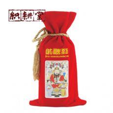 绒布婚庆专用酒袋白酒袋礼品酒袋定制厂家