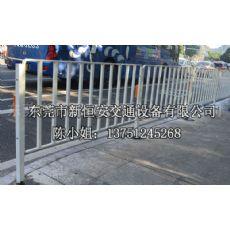 交通设施安全绿道通品牌人行道隔离护栏单位为毫米