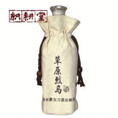 白酒袋批发定做厂家 郑州织耕堂供应定做酒袋绒布袋
