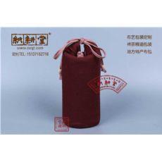 绒布收纳袋 绒布束口抽绳袋 郑州绒布袋厂家 织耕堂包装袋定做