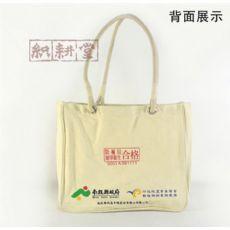 郑州定做建业帆布袋房地产手提袋【织耕堂布艺包装】