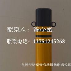 厂家热销供应黄黑固定式优质钢管防撞柱质优价廉