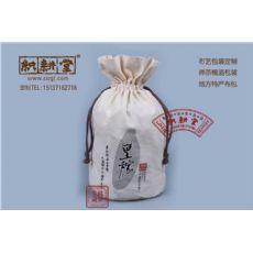 深圳织耕堂厂家 专业定制有机食品坚果麻布袋 天然环保束口棉布袋