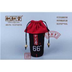 8安帆布束口袋厂家定制天然环保帆布食品袋黑色帆布抽绳收纳袋