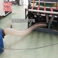镀铜PU带钢丝软管厂家透明吸尘PU钢丝管单价走势