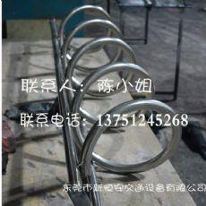 通用螺旋式自行车停车架生产厂家专业定做价格
