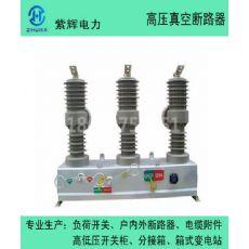 供应手动带隔离户外真空断路器  紫辉ZW32-12/630-20户外真空断路器 10KV高压断路器