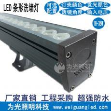 LED远射洗墙灯 大功率七彩多变轮廓投射灯户外防水高亮远程照射灯 江门为光照明