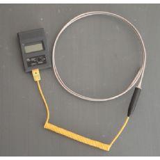 青岛厂家供应表面温度计 铝水测温大手柄铠装热电偶 配数字温度表