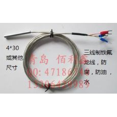 wzp  PT100温度传感器 探头 高精度温度传感器选型 PT100铂电阻芯 2线