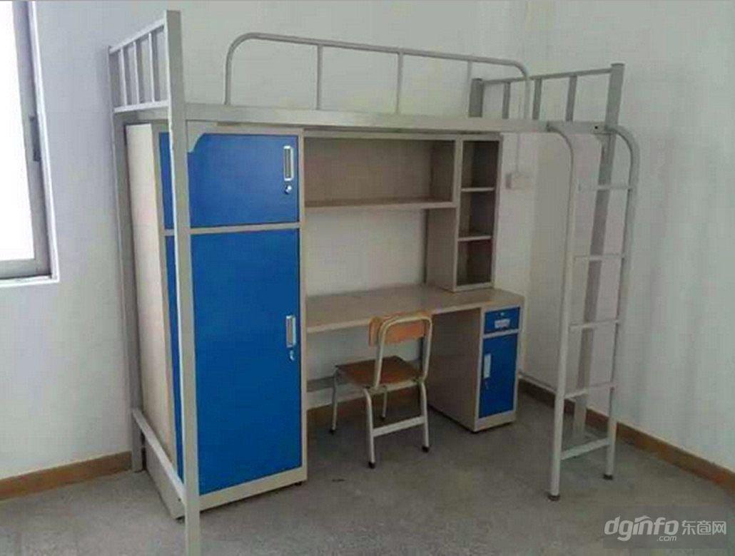 大学生宿舍床厂家 供应公寓床双层床 员工公寓床图片图片