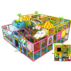 郑州儿童游乐设备室内淘气堡加盟的流程