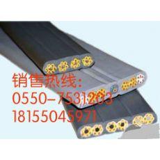 厂家直销耐寒耐高温移动行车扁电缆 YVFB 3*6mm2 耐磨耐油