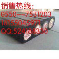 电力传输起重机行车扁电缆 YVFB 3*70mm2 耐磨耐油行车扁电缆