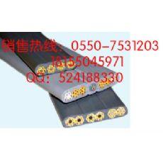 专业生产耐油耐腐行车扁电缆 YVFB 3*6+1*4