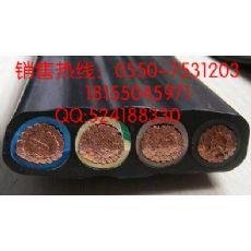 耐高温耐腐耐磨移动行车扁电缆 YVFB 3*16+1*10 型号齐全 国标生产 保质保量
