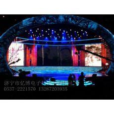 梁山led显示屏知名厂家, 室内P4舞台屏 婚庆屏
