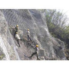 边坡防护网 落石防护网