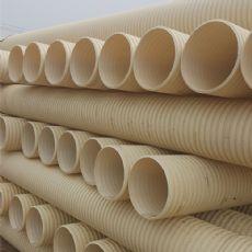 PVC双壁波纹排污管直径110双壁波纹管