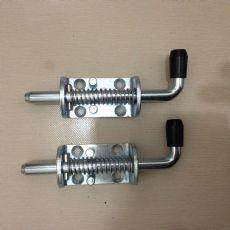 钢制结实自动弹簧插销工业大门限位卡销