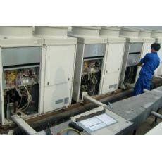 新新家园空调维修清洗-石厦物业时代新居加雪种空调加氟-拆装维修