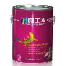 中国十大乳胶漆品牌德工漆乳胶漆招商外墙涂料代理
