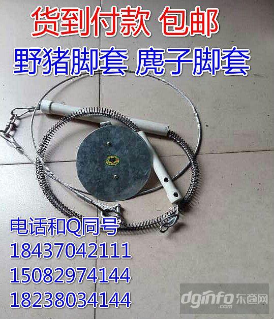 日本彈簧鋼絲繩野豬套野豬套制作圖解彈簧鋼絲繩野豬