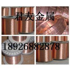 轴装0.8 1.0 1.5MM紫铜线半硬、软态T2紫铜线99.95%高纯紫铜线现货直销