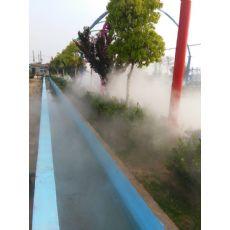 河南人造雾雾森系统 园林景观造雾设备
