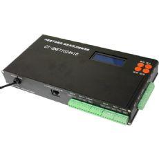 极速之作:千兆网联机/脱机两用16口LED控制器
