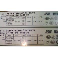 OSRAM QT-FIT 5/8 1x18-39电子镇流器代替QT-FIT8 1x36W