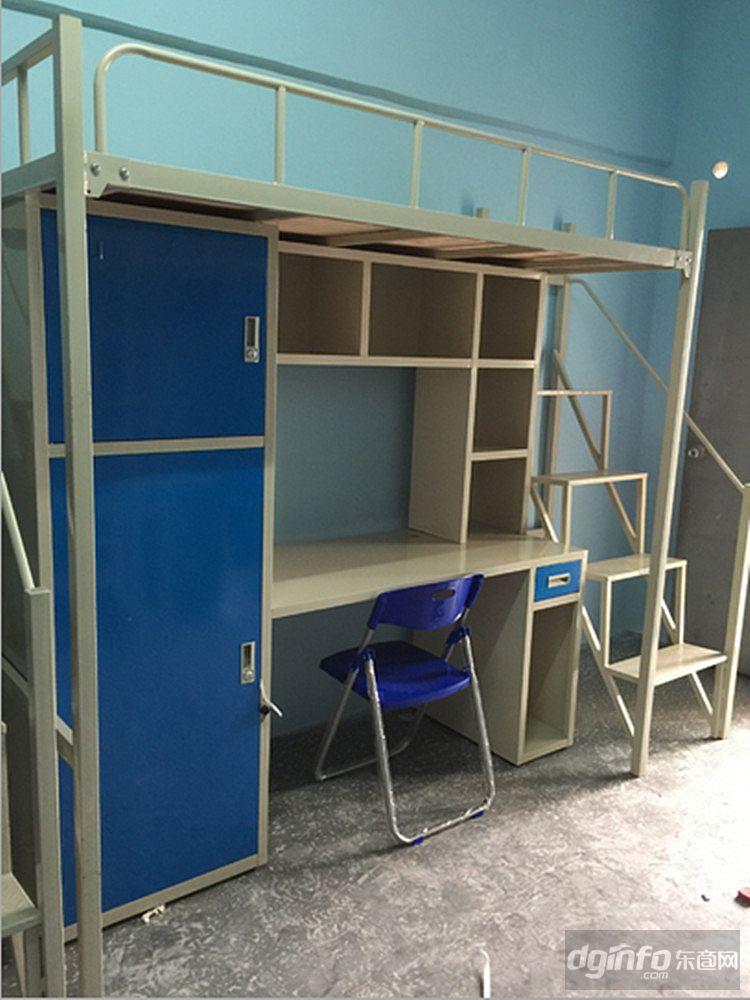 学生公寓床尺寸/学生公寓床定做/东莞康胜大学生公寓床生产厂家图片