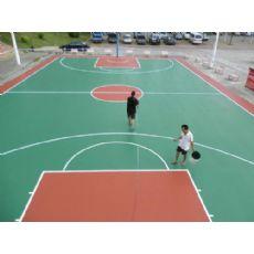 球场地坪漆,篮球场地板漆,防滑地面漆,花都篮球场地平漆