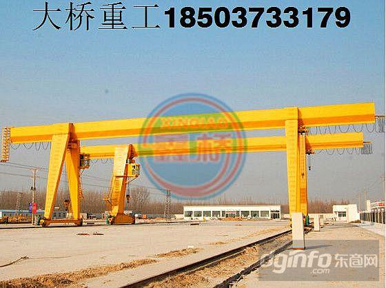 广东河源5t龙门吊|行吊厂家门式起重机主要包括
