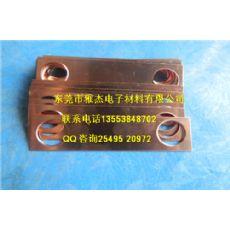 纯铜静法兰静电连接片,电连接铜片,紫铜连接铜片