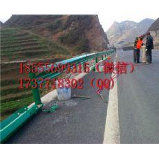 南昌青云谱区道路波形护栏/南昌高速防撞护栏厂