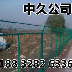 护栏报价 护栏网片 浸塑高铁防护栅栏 高速公路框架护栏