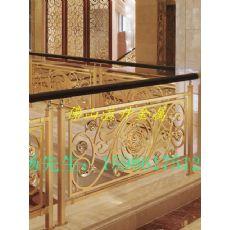 金属护栏加工 大堂旋转楼梯护栏制作