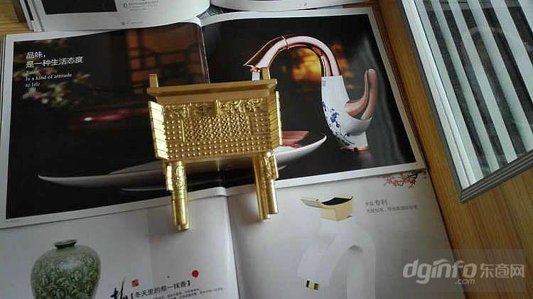 纯铜鼎 鼎摆件 仿古方铜鼎 办公家居摆件 铜工艺商务礼品 鼎铜器