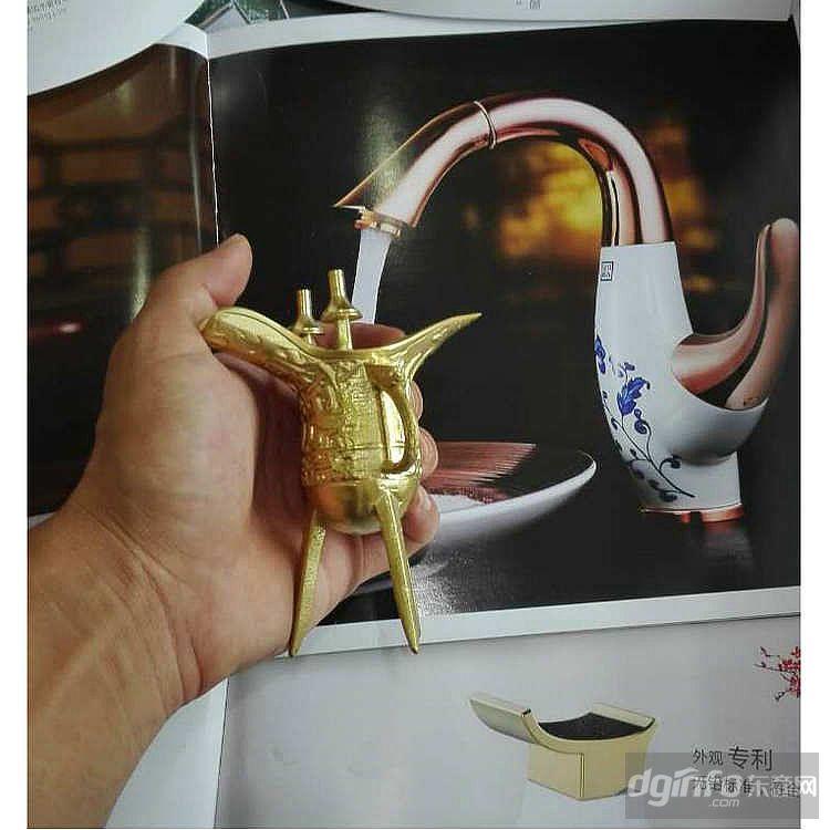 仿古乾隆杯 黄铜摆件礼品批发 铜制工艺品